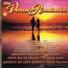 CDs de Música: LEONARDO FAVIO / 10 CC / LOS BRAVOS, ETC - UN VERANO ROMÁNTICO - DOBLE CD 1997. Lote 183691330