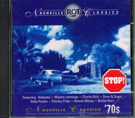 NASVILLE CLASSICS '70S - CD 1995 (Música - CD's Country y Folk)