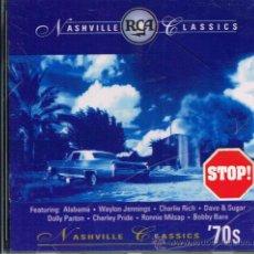 CDs de Música: NASVILLE CLASSICS '70S - CD 1995. Lote 33155671
