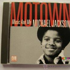 CDs de Música: MICHAEL JACKSON MUSIC AND ME CD. Lote 32646919