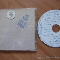 CDs de Música: THE WHO `LIVE AT LEEDS` DIGITALLY REMASTERED 25TH ANNIVERSAY EDITION. Lote 31781005