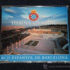 CDs de Música: HIMNE OFICIAL RCD ESPANYOL CD 1997 KONGA MUSIC - HIMNO RCD ESPAÑOL. Lote 32681842