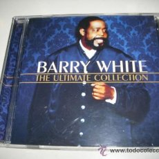 CDs de Música: BARRY WHITE THE ULTIMATE COLLECTION 18 TEMAS. Lote 32698540
