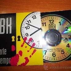 CDs de Música: OBK ROBARLE AL TIEMPO REMIXES CD SINGLE PROMOCIONAL DE CARTON MUY RARO CONTIENE 4 VERSIONES. Lote 32701542