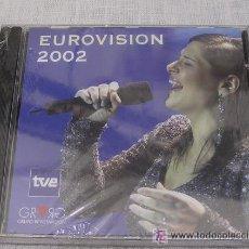 CDs de Música: EUROVISIÓN 2002 PC CD ROM - TVE - A ESTRENAR - PRECINTADO. Lote 32731635