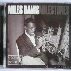 CDs de Música: MILES DAVIES - MILESTONE. Lote 32736204