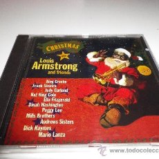 CDs de Música: LOUIS ARMSTRONG AND FRIENDS CHRISTMAS CD ALBUM PRECINTADO DEL AÑO 1993 25 TEMAS FRANK SINATRA. Lote 46367867