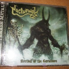 CDs de Música: CD NOCTURNAL - ARRIVAL OF THE CARNIVORE - UNHOLY THRASH METAL - DISPLEASED RECORDS -FROM BEYOND PROD. Lote 32783057