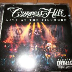 CDs de Música: CD CYPRESS HILL - LIVE AT THE FILLMORE - SONY 2000 - COLUMBIA. Lote 32783382