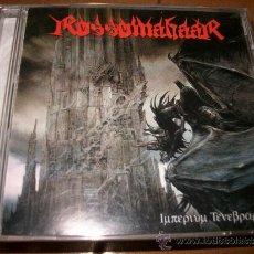 CDs de Música: CD ROSSOMAHAAR - IMPERIUM TENEBRARUM - MORE HATE PRODUCTION - BLACK METAL - METALLICA CALL OF KTULU. Lote 32783427