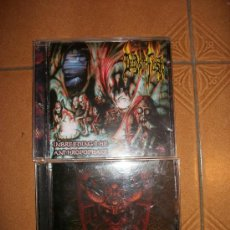 CDs de Música: LOTE 2 CDS DEEDS OF FLESH - INBREEDING THE ANTHROPOPHAGI + MARK OF THE LEGION - UNIQUE LEADER . Lote 32795183