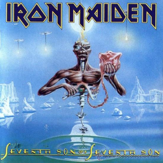 IRON MAIDEN SEVENTH SON OF A SEVENTH SON CD ORIGINAL (Música - CD's Heavy Metal)