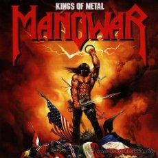CDs de Música: MANOWAR KINGS OF METAL CD . Lote 32801324