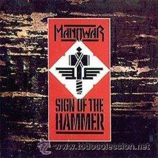 CDs de Música: MANOWAR SIGN OF THE HAMMER CD. Lote 32801346