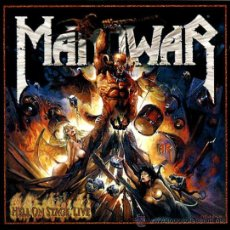 CDs de Música: MANOWAR HELL ON STAGE LIVE 2 CD. Lote 32801437