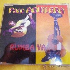 CDs de Música: PACO AGUILERA RUMBA YA REMIXES CD SINGLE PORTADA DE PLASTICO AÑO 1996 5 TEMAS. Lote 32821398