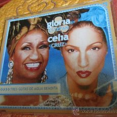 CDs de Musique: MAXI-CD DE GLORIA ESTEFAN DUO CON CELIA CRUZ- DEL 2000 -10 TEMAS- PLASTIFICADO. Lote 32823205