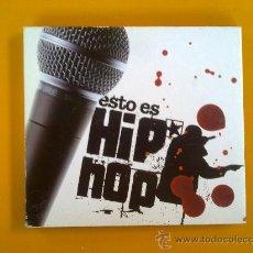CDs de Música: CD, ESTO ES HIP HOP, AÑO 2004, . Lote 32866287
