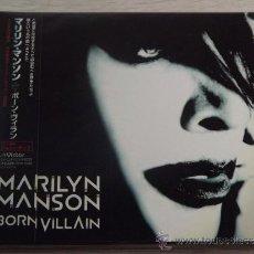 CDs de Música: MARILYN MANSON /BORN VILLAIN JAPAN VERSION 2012 ALBUM CD. Lote 32867712