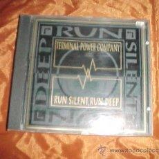 CDs de Música: TERMINAL POWER COMPANY. RUN SILENT, RUN DEEP. CDSITUATION TWO 1992 ENGLAND.. Lote 32938347