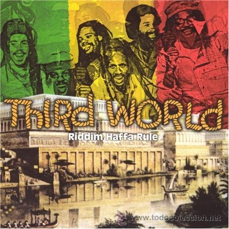 CDs de Música: THRID WORLD * CD * RIDDIM HAFFA RULE * LIVE * RARE * PRECINTADO!!! - Foto 1 - 173992988