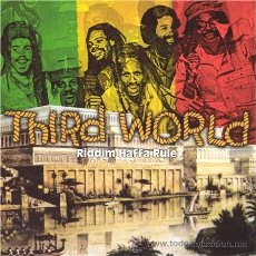 CDs de Música: THRID WORLD * CD * RIDDIM HAFFA RULE * LIVE * RARE * PRECINTADO!!!. Lote 173992988