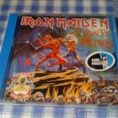 CDs de Música: IRON MAIDEN - RUN TO THE HILLS - ÁLBUM DISCO CD HEAVY METAL. Lote 33006722
