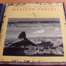 CDs de Música - STEVE ROACH & KEVIN BRAHENY ( WESTERN SPACES) CD 7 TRACKS 1990 (CD9) - 33037399