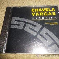 CDs de Música: CHAVELA VARGAS MACORINA CD ALBUM GRABADO EN MADRID EN MAYO DEL AÑO 1994 CONTIENE 11 TEMAS. Lote 33019164