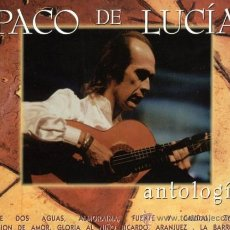 CDs de Música: PACO DE LUCIA - ANTOLOGIA - 2 CD'S. Lote 33036111
