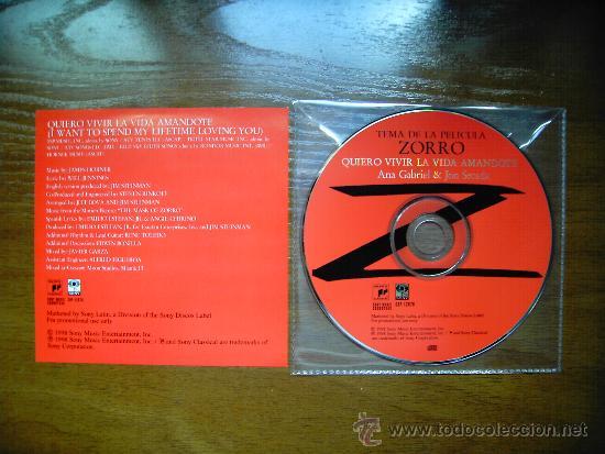 Ana Gabriel Y Jon Secada Quiero Vivir La Vida A Sold Through Direct Sale 43010192