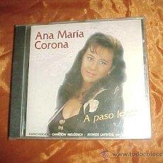 CDs de Música: ANA MARIA CORONA. A PASO LENTO. RANCHERAS. CANCION MELODICA. RITMOS LATINOS ... CD PRECINTADO.. Lote 33093076