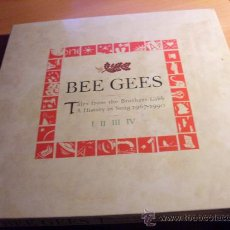 CDs de Música: BEE GEES ( TALES FROM THE BROTHERS GIBB. A HISTORY IN SONG 1967 - 1990 ) 4 CD BOX SET ( AT). Lote 33187162