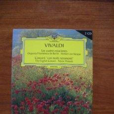 CDs de Música: VIVALDI LAS CUATRO ESTACIONES. Lote 33296738