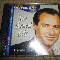 CDs de Música: JOSE MANUEL SOTO DEJATE QUERER / EMBUSTERA CD ALBUM EDICION SERIE ESTELAR DEL AÑO 2000 10 TEMAS. Lote 33132561