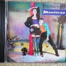 CDs de Música: ENRIQUE SIERRA & LOS VENTILADORES MENTIRAS CD ALBUM 1995 RADIO FUTURA OUKA LELE 10 TEMAS. Lote 142649421
