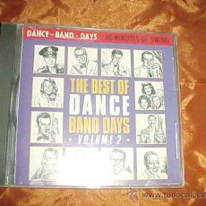 CDs de Música: THE BEST OF DANCE BAND DAYS. VOLUME 2. CD PRISM LEISURE CORPORATION 1987.. Lote 33233162