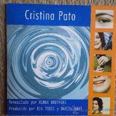 CDs de Música: CRISTINA PATO TOLEMIA REMIXES CD SINGLE PROMOCIONAL PORTADA DE CARTON AÑO 1999 2 TEMAS. Lote 33239936