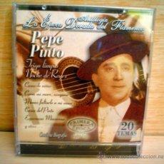 CDs de Música: ANTOLOGIA.LA EPOCA DORADA DEL FLAMENCO.PEPE PINTO.. Lote 33247744