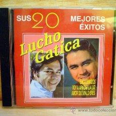 CDs de Música: LUCHO GATICA.SUS 20 MEJORES EXITOS.. Lote 33262050