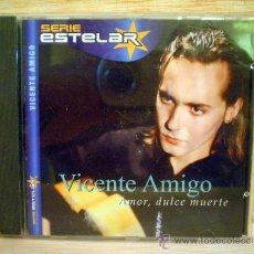 CDs de Música: VICENTE AMIGO.AMOR,DULCE MUERTE.. Lote 33262336