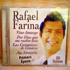 CDs de Música: RAFAEL FARINA.PRIMERA EPOCA.20 TEMAS.. Lote 33262892