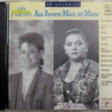 CDs de Música: CD DE ANA REVERTE Y DE MARIA DEL MONTE 12 EXITOS, COLECCION VIDA COTIDIANA DEL PRADO. Lote 33277601