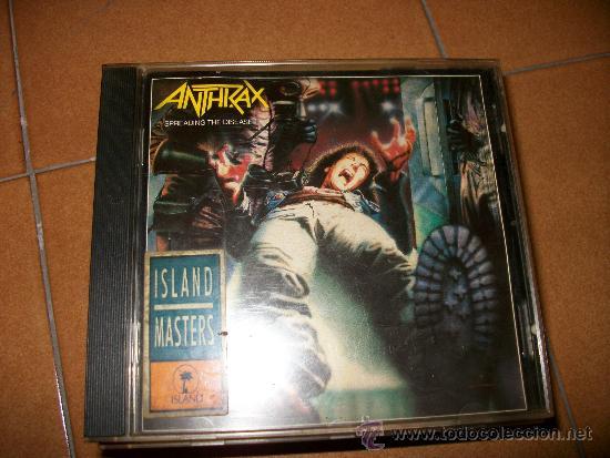 CD - ANTHRAX - SPREADING THE DISEASE - 9 CANCIONES ISLAND 1985 – THRASH METAL (Música - CD's Heavy Metal)