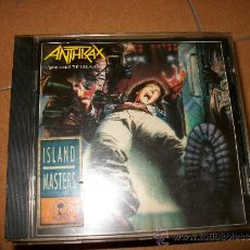 CDs de Música: CD - ANTHRAX - SPREADING THE DISEASE - 9 CANCIONES ISLAND 1985 – THRASH METAL. Lote 33279623