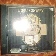 CDs de Música: BING CROSBY THE STORY. 25 PHONOGRAPHIC MEMORIES. CD DEJAVU REFERENCE EDITION ITALY 1989 (#). Lote 33289656