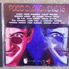 CDs de Música: PACO CLAVEL DUETS CD ALBUM 1994 ALASKA MCNAMARA CARLOS BERLANGA BERNARDO BONEZZI PEDRO ALMODOVAR . Lote 33311861