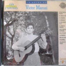 CDs de Música: CD DE VICTOR MANUEL 12 TEMAS COLECCIÓN VIDA COTIDIANA DE EDICIONES DEL PRADO. Lote 33314138