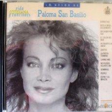 CDs de Música: CD DE PALOMA SAN BASILIO 12 TEMAS COLECCIÓN VIDA COTIDIANA DE EDICIONES DEL PRADO. Lote 33314477