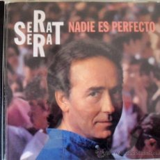 CDs de Música: CD DE JOAN MANUEL SERRAT, ALBUM NADIE ES PERFECTO 11 TEMAS. Lote 168318809
